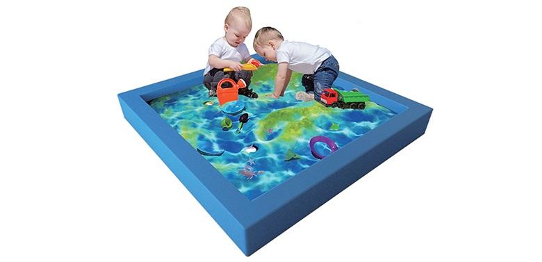 互动投影沙池